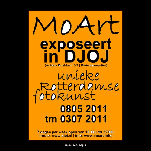 Cartoon: MoArt exposeert in DJOJ! (medium) by MoArt Rotterdam tagged fotoart,djoj,exposition,moartcards,moart,rotterdam