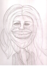 Cartoon: gwyneth paltrow (small) by paintcolor tagged caricature,gwyneth,paltrow,actres,famous,hollywood