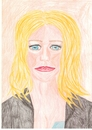 Cartoon: gwyneth paltrow (small) by paintcolor tagged gwyneth,paltrow,actres,famous,hollywood