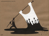 Cartoon: Peace2 (small) by Jesse Ribeiro tagged conflicts war peace oil flag people democracy