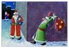 Cartoon: Merry Xmas (small) by Makhmud Eshonkulov tagged xmas christmas