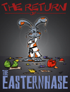 Cartoon: Frohe Eastern II (small) by subbird tagged osterhase