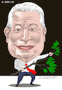 Cartoon: Al Gore (small) by Cartoonarcadio tagged al,gore,usa,planet,environment,pollution,climate,change
