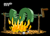 Cartoon: Fight against dollar. (small) by Cartoonarcadio tagged money currency countries economy