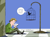 Cartoon: Learn to be free. (small) by Cartoonarcadio tagged freedom,samart,phones,spending,time
