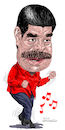 Cartoon: Nicolas Maduro-Venezuela. (small) by Cartoonarcadio tagged maduro,venezuela,socialism,latin,america