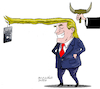 Cartoon: Presidential selfie. (small) by Cartoonarcadio tagged trump,selfie,us,government