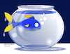 Cartoon: Strange fish tank. (small) by Cartoonarcadio tagged fish,tank,humor,cartoon