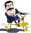 Cartoon: The economic politics of Maduro. (small) by Cartoonarcadio tagged maduro,venezuela,latin,america,dictactor,president,socialism