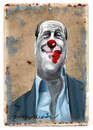 Cartoon: Silvio Berlusconi (small) by oktaybingöl tagged oktay bingöl