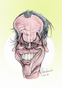Cartoon: Jack Nicholson caricature (small) by Harbord tagged jack,nicholson,caricature