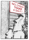 Cartoon: No cheap toons for sale (small) by step tagged ramsch,ausverkauf,billigbilder,billigtoons,cheaptoons