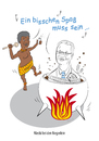 Cartoon: Mecki bei den Negerlein (small) by toonwolf tagged racism,rassismus,politics,politik,cliche,klischee