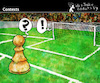 Cartoon: Contexts (small) by PETRE tagged context,field,futbol,chess