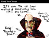 Cartoon: Fixed Term Terror (small) by PETRE tagged dracula,vampires,blood,banks,crisis