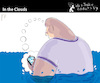 Cartoon: In the Clouds (small) by PETRE tagged facebook,twitter,nets,phones,internet