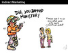 Cartoon: Indirect Marketing (small) by PETRE tagged children,education,playstation