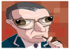 Cartoon: Jean Paul Sartre (small) by PETRE tagged caricature sartre france philosophers
