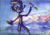 Cartoon: Painter (small) by PETRE tagged sky painter beach