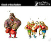 Cartoon: Shock or Gradualism (small) by PETRE tagged argentina,fmi,crisis