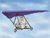 Cartoon: Air exercise (small) by gartoon tagged hang,glider,fly,blue,sky,old,man