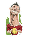 Cartoon: Cristiano Ronaldo (small) by nader_rahmani tagged cristiano,ronaldo
