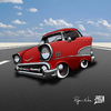 Cartoon: 57 Chevy (small) by RyanNore tagged chevy,car,cartoon,photoshop,caricature