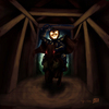 Cartoon: Headless Horseman (small) by RyanNore tagged headless,horseman,sleepy,hollow,painting,ryan,nore