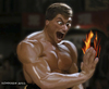 Cartoon: Jean Claude (small) by nommada tagged jean,claude,van,damme