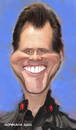Cartoon: Jim (small) by nommada tagged jim carrey
