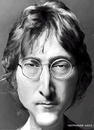 Cartoon: John (small) by nommada tagged john,lennon