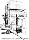Cartoon: Agnes will be back on Monday (small) by jjjerk tagged agnes ireland irish cartoon coolock library dublin car