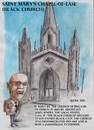 Cartoon: Black Church Dublin (small) by jjjerk tagged black church ireland irish cartoon semple architect