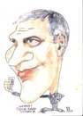 Cartoon: Coffee break (small) by jjjerk tagged clooney george batman cartoon coffee american film star movie caricature
