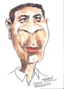 Cartoon: Denzel Washington (small) by jjjerk tagged denzel washington actor american cartoon caricature film movie