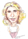 Cartoon: Emilia Fox (small) by jjjerk tagged emilia fox actress actor cartoon caricature film english england