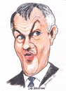 Cartoon: Lar Bradshaw (small) by jjjerk tagged lar bradshaw anglo irish bank ireland cartoon caricature tie director
