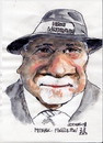 Cartoon: Michael Fingelton (small) by jjjerk tagged michael fingleton irish nationwide bank ireland cartoon caricature