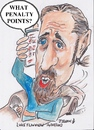 Cartoon: What penalty points? (small) by jjjerk tagged luke ming flanagan mobile phone penalty points cartoon caricature