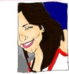 Cartoon: retrato (small) by PAULO HSERRALVO tagged larissa