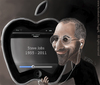 Cartoon: Steve Jobs Tribute (small) by Pfeil tagged steve jobs caricature