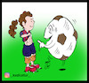 Cartoon: arat hosseini (small) by Hossein Kazem tagged arat,messi