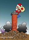 Cartoon: christmas cartoon (small) by Hossein Kazem tagged christmas,cartoon