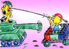 Cartoon: game and peace (small) by Hossein Kazem tagged game,and,peace