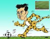 Cartoon: Gareth Bale (small) by Hossein Kazem tagged gareth,bale