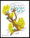 Cartoon: jungle fire (small) by Hossein Kazem tagged jungle,fire
