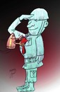 Cartoon: Medal of honor (small) by Hossein Kazem tagged medal,of,honor