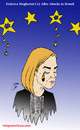 Cartoon: mogherini (small) by Hossein Kazem tagged mogherini