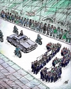 Cartoon: meeting (small) by penapai tagged meeting,democracy