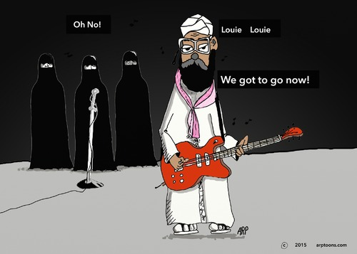 Cartoon: Arabby Band (medium) by tonyp tagged arp,arraby,band,music,politics,arptoons